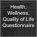 Family Network Chiropractic: Health, Wellness, Quality of Life Questionnaire